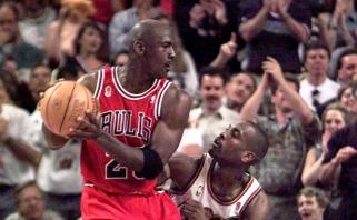"""G.Paytonas: supykau ir norėjau paskambinti Jordanui dėl jo juoko """"Paskutiniame šokyje"""""""