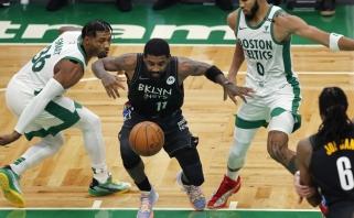 """Įspūdingas """"Nets"""" startas tęsiasi: sutriuškino """"Celtics"""" ir užfiksavo dešimtmetį nematytą rezultatą"""