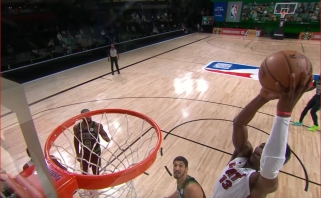Trys monstriški B.Adebayo dėjimai - gražiausi NBA nakties momentai