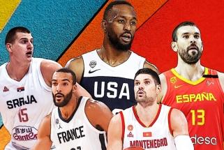 Gausus NBA žaidėjų desantas Kinijoje: kuriose rinktinėse jų bus daugiausia?