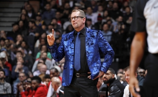 "NBA metų treneris - ""Raptors"" strategas"