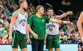 D.Sabonis ir M.Kalnietis apžvelgė pasiruošimą čempionatui ir draugiškų rungtynių svarbą