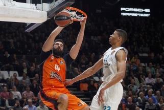 "Ispaniškoje dvikovoje Eurolygoje ""Valencia"" nukovė ""Real"" krepšininkus"