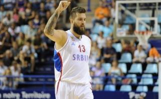 Po pralaimėto finalo - M.Raduljicos pokštai apie barzdas