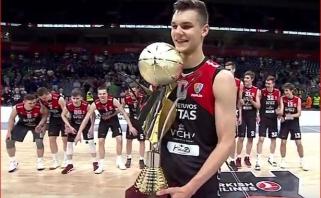 """""""Lietuvos ryto"""" jaunimas laimėjo Eurolygos turnyrą! (mačo video)"""