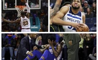 NBA: Embiido trauma, rekordų kupinas vakaras Šarlotėje ir 56 Townso taškai