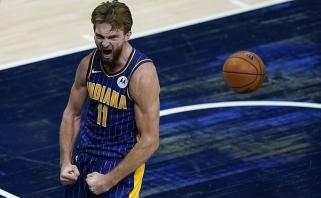 Elitinis pripažinimas: Sabonis NBA jau minimas tarp kandidatų į MVP titulą