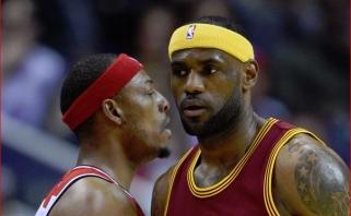 """P.Pierce'as patvirtino: taip, spjoviau į """"Cavaliers"""" atsarginių suolelį"""