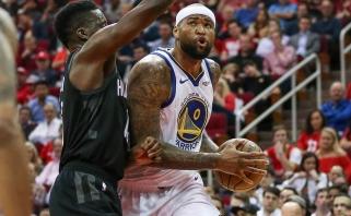 """Pirmąsyk sezone čempionams nusileidę """"Rockets"""" nerado priešnuodžių Cousinsui (rezultatai)"""