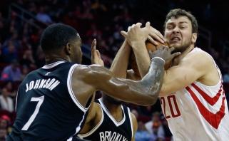 """""""Rockets"""" nenori paleisti D.Motiejūno į Brukliną - planuoja naują pasiūlymą"""