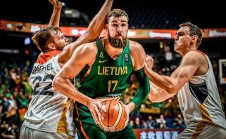 Lietuva lengvai įveikė vokiečius ir užėmė pirmą vietą (spaudos konferencija)