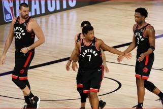 """""""Raptors"""" krepšininkai nenori žaisti Lusivilyje dėl incidento su B.Taylor"""