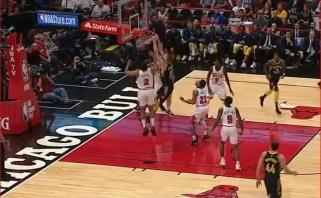 NBA: Sabonis pasižymėjo triuškinančiu dėjimu, Valančiūnas pataikė iš toli (rezultatai)