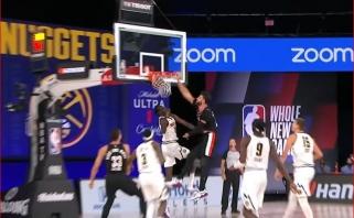 Monstriški latvio ir bosnio dėjimai - gražiausi NBA momentai