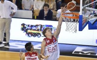 M.Kuzminsko vedamas Milano klubas pateko į finalą