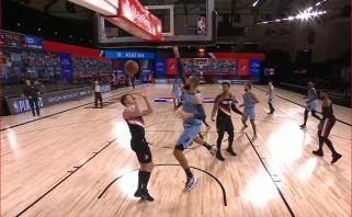 Tarp NBA gražiausių momentų - ir J.Valančiūno dėjimas, ir dėjimai per jį