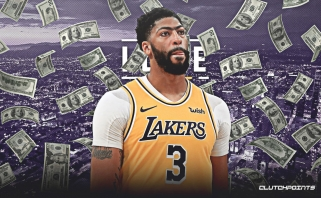 """NBA superžvaigždė A.Davisas ilgam lieka """"Lakers"""""""