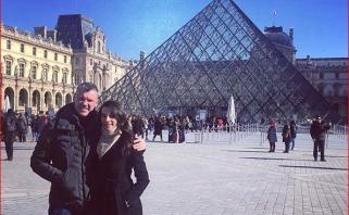 Nuo įtampos Eurolygoje Š.Jasikevičius su žmona paspruko į Paryžių