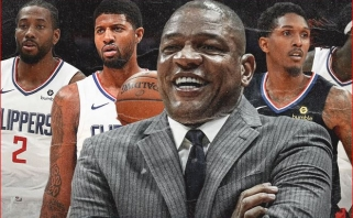 """""""Clippers"""" krepšininkai surengė bendrą treniruotę"""