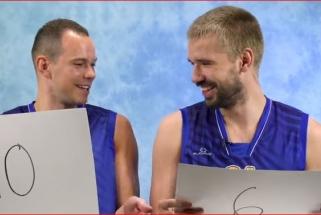 Derinys: kai apie komandos draugą žinai tik jo marškinėlių numerį (video)