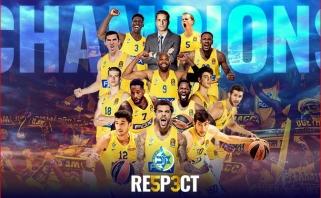 """""""Maccabi"""" 53-ią kartą tapo Izraelio čempionu"""