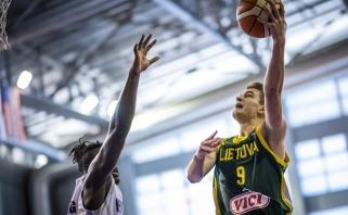 Lietuviai pasaulio čempionate nusileido Naujajai Zelandijai, aštuntfinalyje žais su Australija