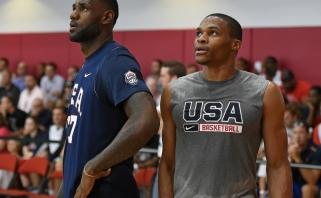 """Paaiškėjo NBA """"Visų žvaigždžių"""" rungtynių starto penketai: nėra R.Westbrooko"""