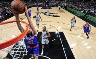 M.Kuzminskas pakartojo rezultatyvumo NBA lygoje rekordą