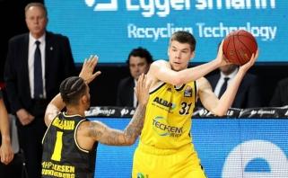 R.Giedraitis su ALBA užtikrintai žengė į Vokietijos čempionato ketvirtfinalį