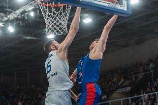 E.Žukauskas buvo rezultatyviausias mače prieš CSKA, R.Kurtinaičio auklėtiniai krito Kazanėje