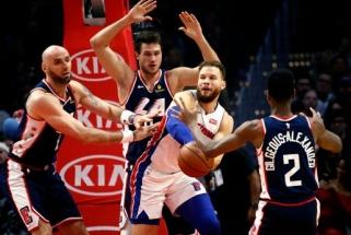"""Sužvėrėjęs Griffinas atkeršijo """"Clippers"""", Townsas pasiekė NBA sezono rekordą"""