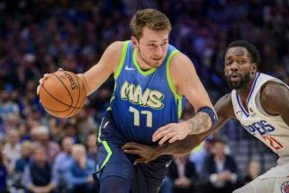 """Netaiklus Dončičius nepasipriešino NBA čempiono vedamai """"Clippers""""; Jokičius - per plauką nuo rekordo"""