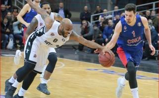 VTB lygoje vos neįvyko sensacija: CSKA tik per pratęsimą laimėjo Saratove