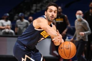 NBA ikisezoninių rungtynių nakties puošmena – meistriškas Campazzo perdavimas