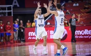 Po Argentinos pergalės paaiškėjo pirmosios ketvirtfinalio dalyvės
