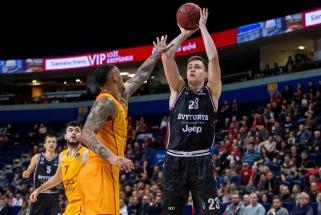 """""""Ryto"""" talentas M.Blaževičius padavė paraišką NBA naujokų biržai"""