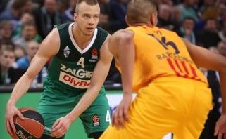 """Gundančio pasiūlymo sulaukęs L.Lekavičius išvyksta į """"Panathinaikos"""" (video)"""