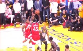 Paskutinio NBA  sezono mačo Top 5 viršūnėje - P.Siakamo prasiveržimas