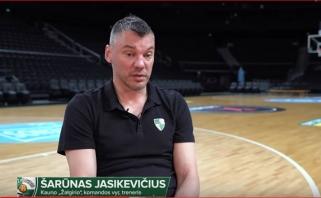 Š.Jasikevičius: kiekvienais metais turėsime gerus šansus eiti toli Eurolygoje