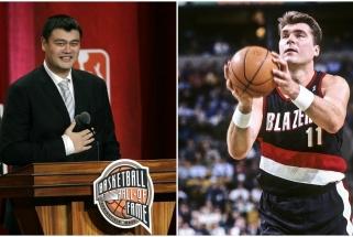 Kinų NBA legenda Y. Mingas prisiminė A.Sabonį: jis - neįtikėtinas