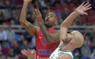 """CSKA namie sunkiai įveikė """"Panathinaikos"""", """"Galatasaray"""" nusileido serbams"""