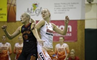 """LMKL: čempionės turėjo vargo su kaunietėmis, """"Vilkmergė"""" iškovojo pirmą pergalę"""