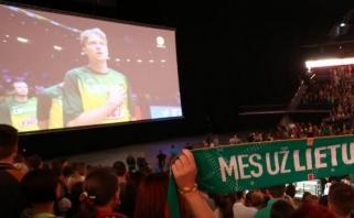 """""""EuroBasket 2017"""" transliacijos - didžiausiame ekrane """"Žalgirio"""" arenoje"""