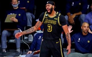 "M.Barnesas: ""Lakers"" viskas suburta aplink A.Davisą"