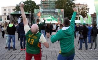 Olimpinis miestelis Kaune tapo pirmosios krepšininkų pergalės liudininku