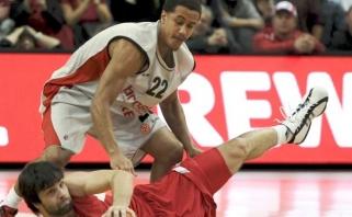 """""""Olympiacos"""" atakoms diriguos NBA rungtyniavęs amerikietis"""