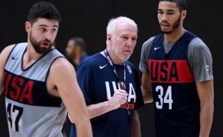 JAV rinktinė stringa ir aikštėje - pralaimėjo FIBA atrankoje žaidusiems krepšininkams