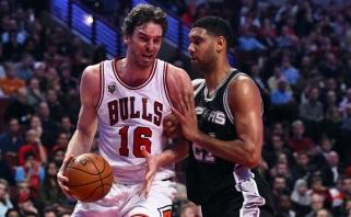 """Į """"Bulls"""" nenorintis grįžti P.Gasolis - rimčiausias """"Spurs"""" taikinys"""