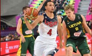 S.Curry nori atstovauti JAV rinktinei olimpiadoje