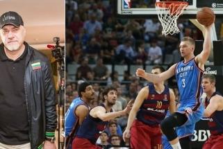 Pirmuosius Domanto žingsnius NBA stebėjęs A. Sabonis: jam dar dirbti ir dirbti